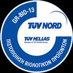 Tuv Bio-13 certificate